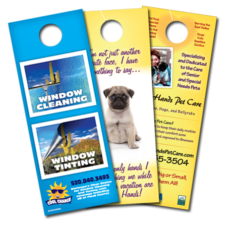 Door Hangers chicago door hangers printing | best online full color printing