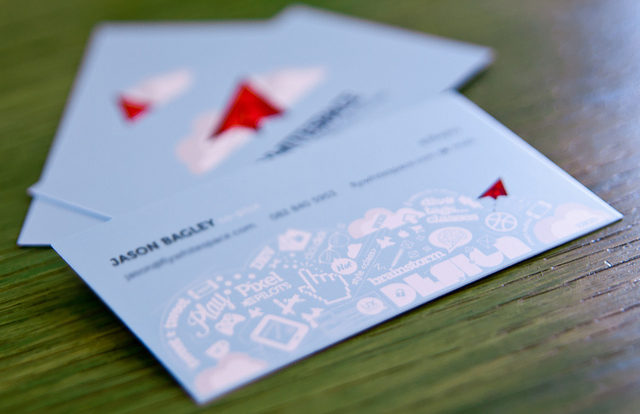 Chicago Business Cards Contact Info